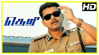 Theri movie | Vijay investigates IT girl missing | Rajendran | Mahendran | Azhagam Perumal