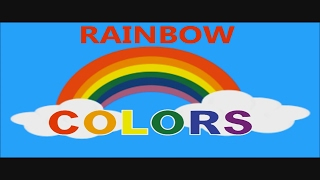 Rainbow Learning Colors - Kids Learning The Colors Of The Rainbow - Children Learning Video