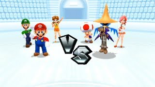 Mario Sports Mix: Dodgeball Match #1