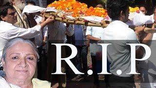 First Baa Of Tv Show Kyunki Saas Bhi Kabhi Thi Sudha Shivpuri Dead