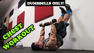 Intense 5 Minute Dumbbell Chest Workout #2