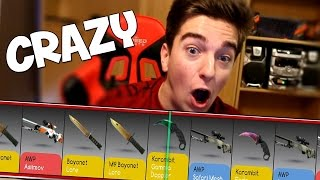 BEST KNIFE CASE EVER! (Drakemoon Case Opening)