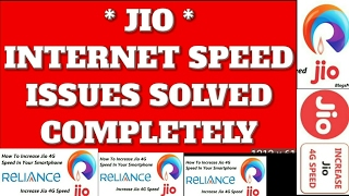 Jio Data Speed Problem Solved | Official Tips For Jio