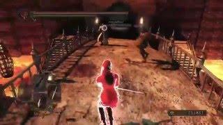 Dark Souls 2 SOTFS Throne Watcher and Defender Gank Spank
