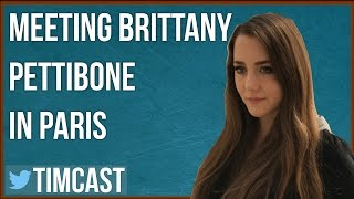 AMERICAN TRUMP SUPPORTER IN FRANCE, MEETING BRITTANY PETTIBONE