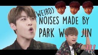 Strange Noises of Park Woo Jin | Wanna One 박우진