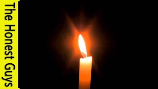 Relaxation Music - 8 HOURS Meditation Candle
