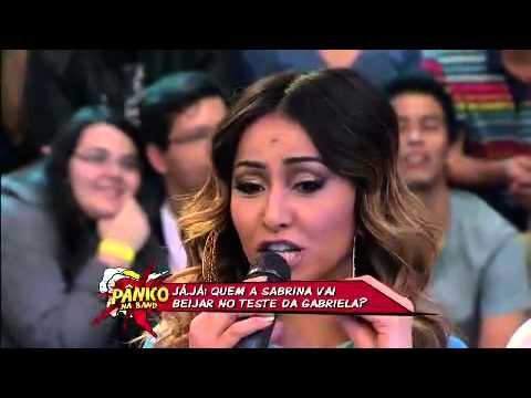 01 7 Sabrina explica beijo técnico em Bolinha