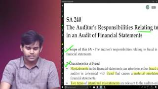 Final Audit,IPcc Audit Standards BY CA Harshad Jaju Lecture 3