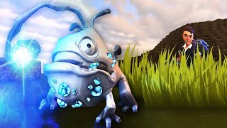 HUNTING THE GREAT... Weird Angler Fish Creature? - Creativerse Game / Gameplay
