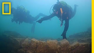 Underwater Fortress Discovered Under Turkish Lake | National Geographic