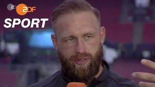 "Harting: ""Denke nicht an schlechte Szenarien"" | das aktuelle sportstudio - ZDF"