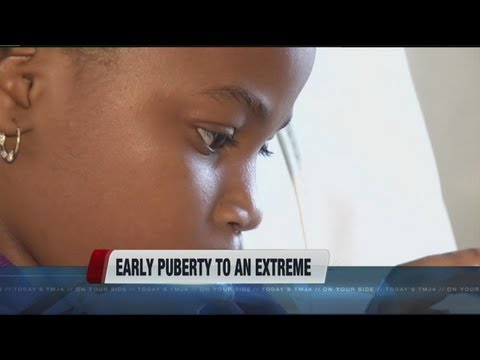 Early puberty to an extreme
