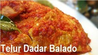 Resep Telur Dadar Balado (Hot Spicy Egg Recipe)