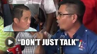 Jamal 'scolds' DAP rep while sitting next to him