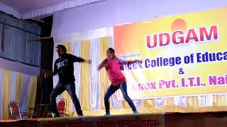 Gulabi ankhen and hamma hamma song salsa dance by mukesh popper and priya thakur