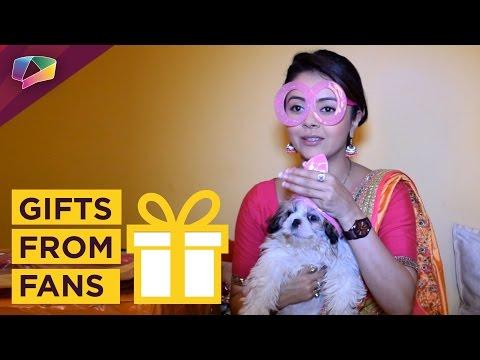 Devoleena Bhattacharjee receives gifts from fans | India Forums