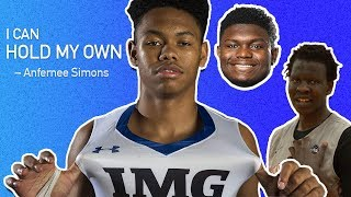 """Good For Him."" Zion Williamson, Bol Bol & More React To Anfernee Simons Going From HS To The NBA 🔥"