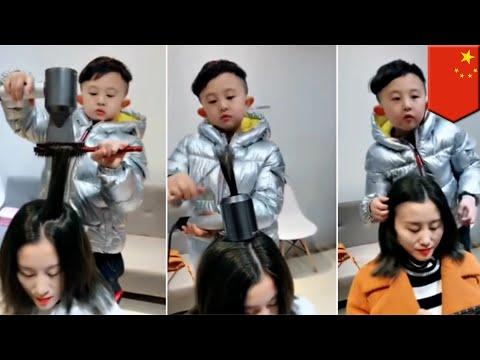 Xxx Mp4 6 Year Old Boy Becomes China S Hottest Hairdresser TomoNews 3gp Sex