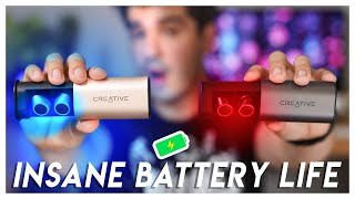 BEST EVER battery life! 🔋 Creative Outlier GOLD Review | Budget True Wireless Earbuds