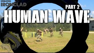 American Milsim Operation Ironclad Part 2: Human Wave (Elite Force 4CRS)