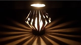 How To Make Amazing lamp With CocaCola Can - creative life hacks idea