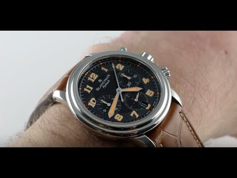 Xxx Mp4 Blancpain Leman Flyback A Toute Vitesse Limited Edition 2185F 1130 Luxury Watch Review 3gp Sex