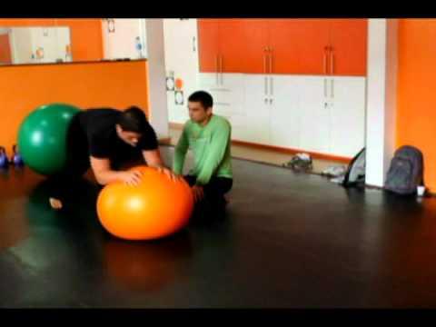 Physical Lab Curso Treinamento Funcional Vídeo 3 Aula Prática Treinamento com bola suiça