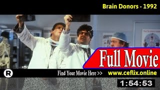 Watch: Brain Donors (1992) Full Movie Online