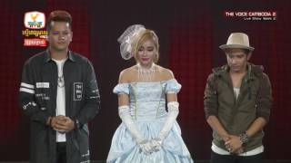 The Voice Cambodia - Result - Live Show 22 May 2016