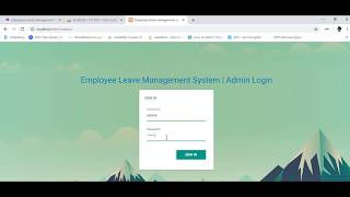 Employee Leaves Management System - ELMS Part 1