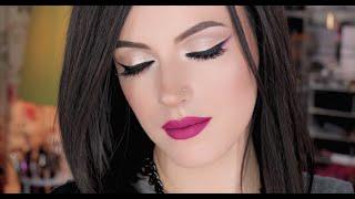 Fall Makeup ( Smokey Liner and Matte Lips )