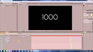 Number Counter // After Effects Tutorial // by ViperCreates