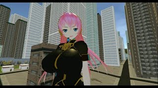 MMD Sizebox: Giantess Luka in the City (Part 2)