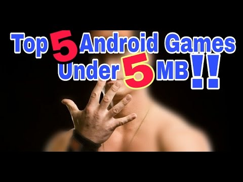 TOP 5 GAMES UNDER 5MB | Android Mechanics
