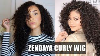 HAIR| Big Curly Lace Wig - Zendaya AMAs Inspired (WowAfrican)  | RAVEN ELYSE