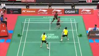 singapore badminton open 2011 Nan ZHANG Yunlei ZHAO vs assaf AHMAD Liliyana NATSIR Singapore Badminton Open 20111