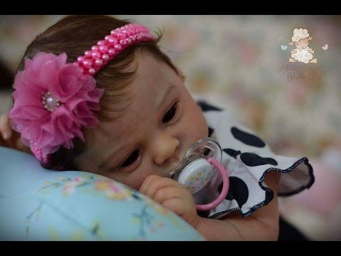 A chegada da minha bebe reborn Emanuelle kit Larry Gabi Reborn