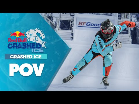 watch GoPro View: Claudio Caluori Takes on Crashed Ice Vet. Reed Whiting in Marseille