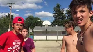 Basketball video with my friends!!! Shirts vs skins