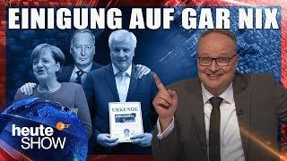 Der Obergrenzen-Streit ist endlich beigelegt! | heute-show vom 13.10.2017