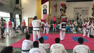 Tang Soo Do National- Ryan Sim vs Russel Lim