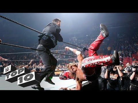 Infamous Royal Rumble Match intruders WWE Top 10 Jan. 20 2018