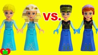 Disney Princess Hair Styles Elsa vs. Anna