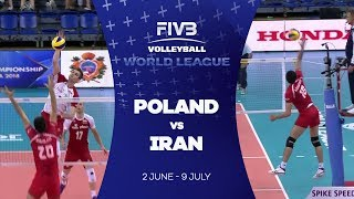 Poland v Iran highlights - FIVB World League