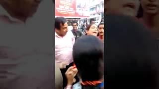 Kalibari rod ka bhayank marpit