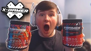 UNBOXING THE *NEW* X-GAMER FLAVORS