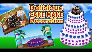 Delicious Cake Make Decoration Cooking Games | Android & iPhone GamePlay