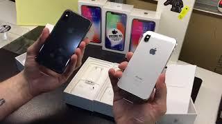 iPhone X - Первая распаковка версии для России