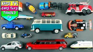 Learn Street Vehicles   Car Cartoons   Emergency Vehicle Names For Kids   Police Car Cartoons